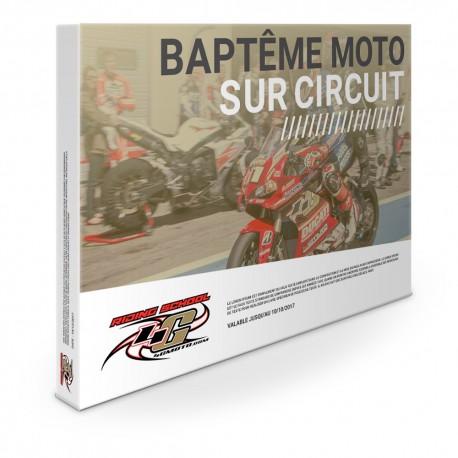 Coffret cadeau Baptême Moto Sur Circuit